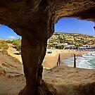 Matala cave & beach - Crete island by Hercules Milas