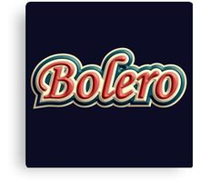 Wonderful bolero Canvas Print
