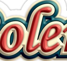 Wonderful bolero Sticker