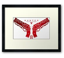 Hunter Guns Pistols Framed Print