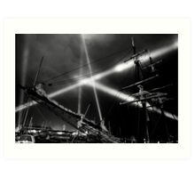 Dark Mofo 2014 - Articulated intersect  Art Print