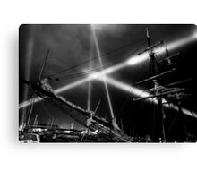 Dark Mofo 2014 - Articulated intersect  Canvas Print