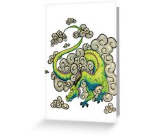 Sky Dragon Greeting Card