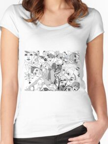 symbiosis Women's Fitted Scoop T-Shirt