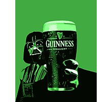 Darth Vader/Guinness Photographic Print