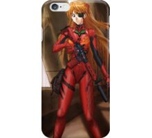 Evangelion Asuka Soldier iPhone Case/Skin