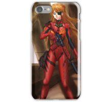 Evangelion Asuka Soldier iPhone Case/Skin