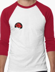 Redhat Linux Enterprise Tees Men's Baseball ¾ T-Shirt
