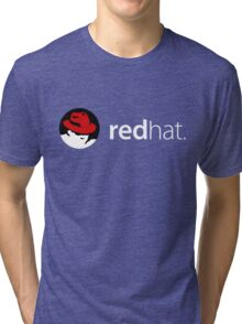 Redhat Linux Enterprise Tees Tri-blend T-Shirt