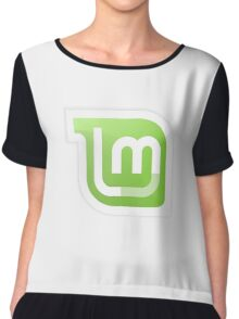 Linux Mint Gnome Kde Tees Chiffon Top