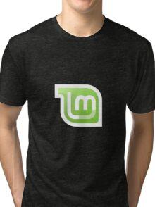Linux Mint Gnome Kde Tees Tri-blend T-Shirt