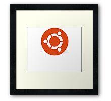 Linux Ubuntu Tees Framed Print