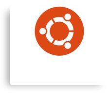 Linux Ubuntu Tees Canvas Print
