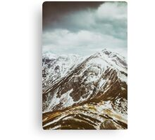 view on the High Tatras IV Canvas Print