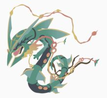 Mega Rayquaza One Piece - Short Sleeve