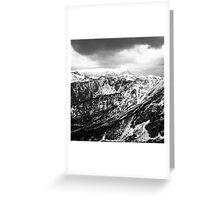 view on the High Tatras III Greeting Card