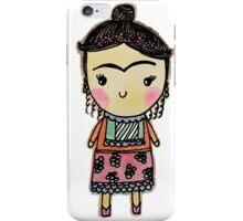 Watercolor Frida Kahlo Pattern iPhone Case/Skin