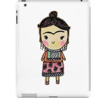 Watercolor Frida Kahlo Pattern iPad Case/Skin