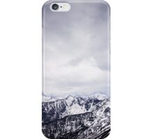 view on the High Tatras II iPhone Case/Skin