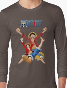luffy-one piece Long Sleeve T-Shirt