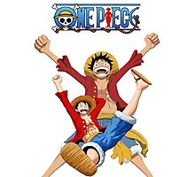 luffy-one piece Photographic Print