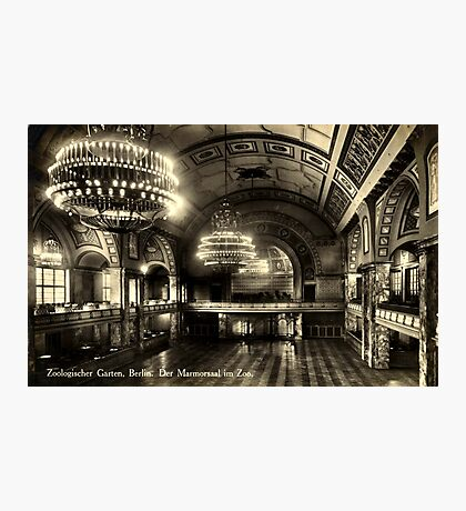Marble Hall, Berlin Zoo Photographic Print