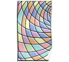 Modern Stylish Abstract Pattern Poster