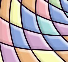 Modern Stylish Abstract Pattern Sticker