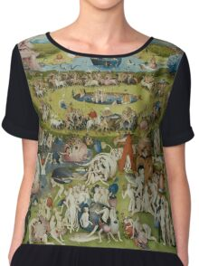 Hieronymus Bosch - The Garden Of Earthly Delights  Chiffon Top