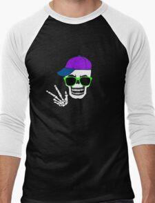 Tubular Skeleton Men's Baseball ¾ T-Shirt