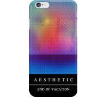 "ᴀ ᴇ s ᴛ ʜ ᴇ ᴛ ɪ ᴄ - ᴇɴᴅ ᴏғ ᴠᴀᴄᴀᴛɪᴏɴ ""3D Magic Eye Poster"" iPhone Case/Skin"