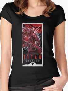 Titan Women's Fitted Scoop T-Shirt