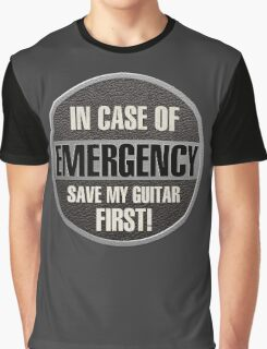 Save my guitar Graphic T-Shirt