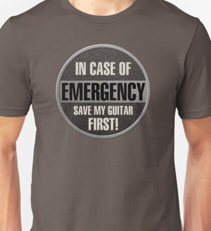 Save my guitar Unisex T-Shirt