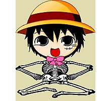 skull luffy-one piece Photographic Print