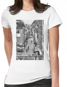Rue du Petit Champlain Womens Fitted T-Shirt