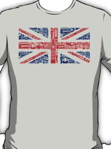 Landmark and Flag T-Shirt