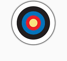 Bulls Eye, Archery, Target, Mod, Roundel, on WHITE Unisex T-Shirt