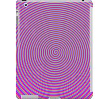 Trippy Colors Purple iPad Case/Skin