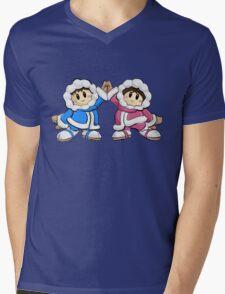 Ice Climbers SSBM Mens V-Neck T-Shirt