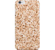 Faux Printed Rose Gold Glitter iPhone Case/Skin