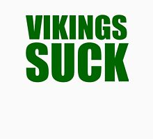 Green Bay Packers - Vikings Suck - Green Text Unisex T-Shirt