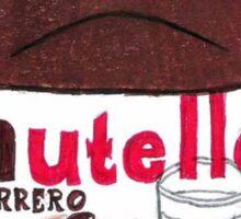 Nutella (Sketchy Tumblr) Sticker
