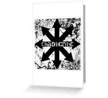 Comical Carnage - ChaotiCritic Greeting Card