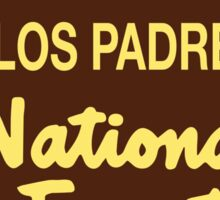 Los Padres National Forest Sticker