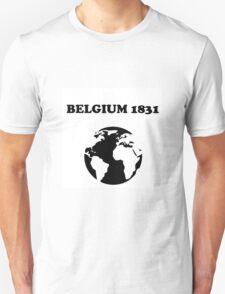 Belgium 1831 Unisex T-Shirt