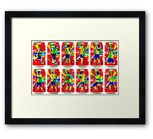Celebrations Framed Print