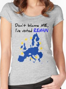 Brexit Women's Fitted Scoop T-Shirt