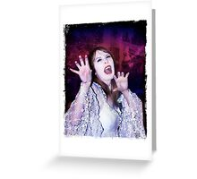 Hammer Vamp Greeting Card