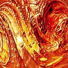 Molten Flow emboss by Kristine Kowitz
